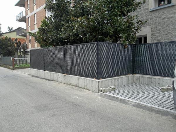 Inferriate per serramenti modena reggio emilia - Recinzioni per giardini ...